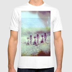 Childhood Mens Fitted Tee White MEDIUM