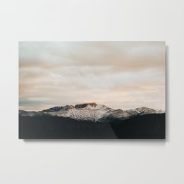 Sunset on Trail Ridge Metal Print