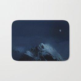 Moonlight on Aoraki / Mount Cook. Bath Mat