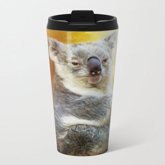Koala Metal Travel Mug