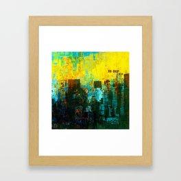 Metropolis Framed Art Print