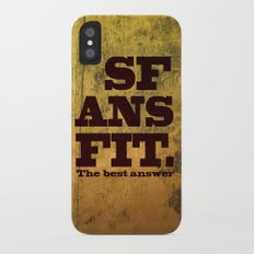 SFANSFIT... the best answer iPhone X Slim Case