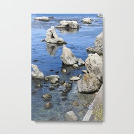 You and Me and the Ocean Metal Print
