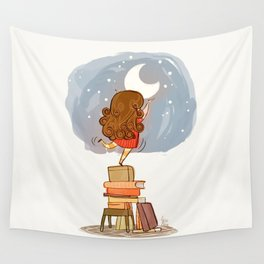 Nothing is out of reach Wall Tapestry