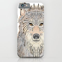 Wolven Way iPhone Case