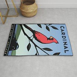 Vintage poster - Cardinal Rug
