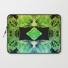 Green Mandala-Heart Chakra Laptop Sleeve