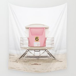 Pink Tower 6 Wall Tapestry