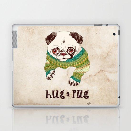 Hug a Pug Laptop & iPad Skin