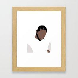 Kendrick Lamar Framed Art Print