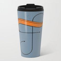 F 001 Metal Travel Mug