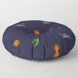 Reach For The Galaxies Floor Pillow