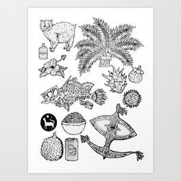 Malaysia Art Print