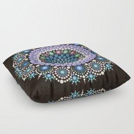 Dot Art Mandala Floor Pillow