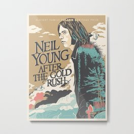 NEIL YOUNG IYENG 2 Metal Print