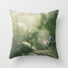 a world of its own Throw Pillow