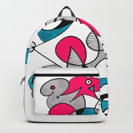 Abstract Birds Backpack