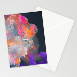 Orage (Colorful clouds in the sky III) Stationery Cards