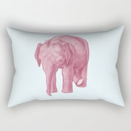 Pink elephants and the emperor of icecream Rectangular Pillow