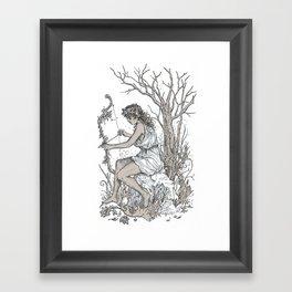 Artemis Framed Art Print
