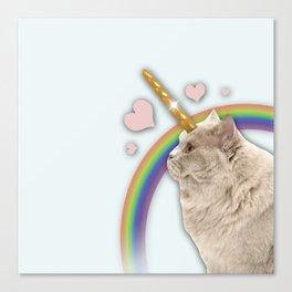 CAT UNICORN Canvas Print