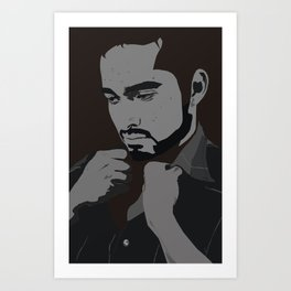 AI JJ VECTOR Art Print