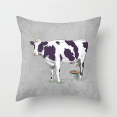 UNICOWRN Throw Pillow