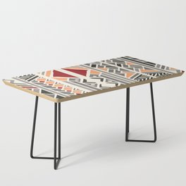 Tribal ethnic geometric pattern 034 Coffee Table