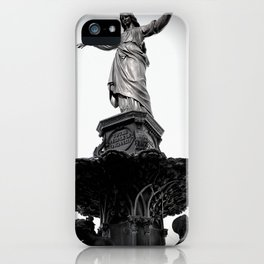 The Lady Of Fountain Square iPhone Case