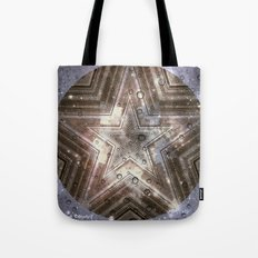 Hollywood Star with water drops Tote Bag
