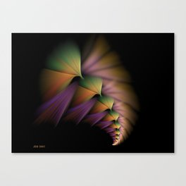 Soft Braiding Canvas Print