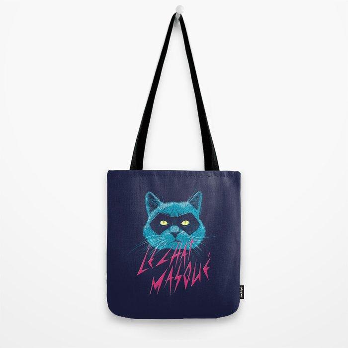 Le Chat Masqué Tote Bag