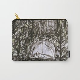 Spending the Night in the Woods Carry-All Pouch
