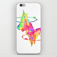 atlas iPhone & iPod Skins featuring ATLAS by DIZYGOTIK