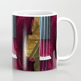 The Red Violin, A Portrait by Jeanpaul Ferro Coffee Mug