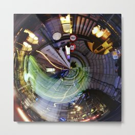 Large Hadron Collider in Bern Metal Print