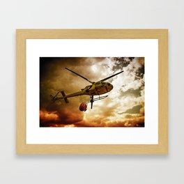 TRUE HEROES III Framed Art Print