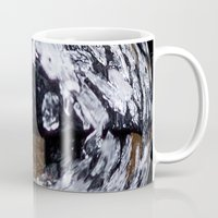 ice Mugs featuring Ice by Rose Etiennette