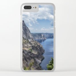 Crater Lake from the North Rim, No. 2 Clear iPhone Case