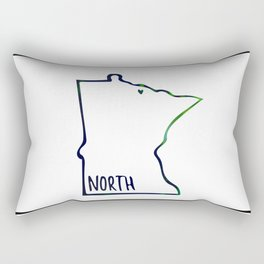 We are the North Rectangular Pillow