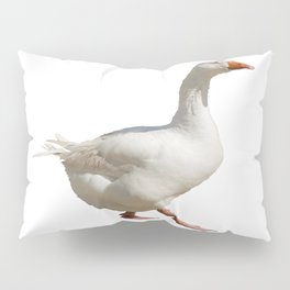 Lovely Weather For Ducks Vector Pillow Sham