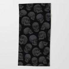 Skulls Beach Towel