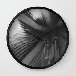 Botanical Gardens Black Orchid #718 Wall Clock