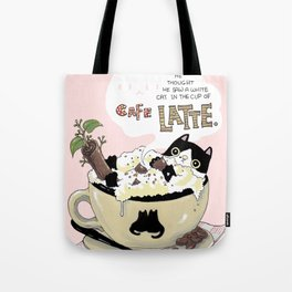 Cafe Latte Tote Bag
