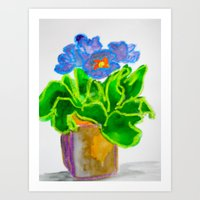 A Pot of Spring Art Print