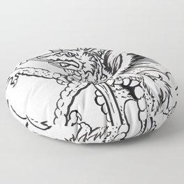 Logres Dragon Floor Pillow