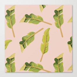 Tropical '17 - Solar [Banana Leaves] Canvas Print