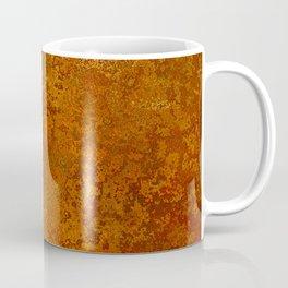 Vintage Copper Rust, Minimalist Art Coffee Mug
