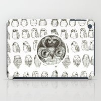 owls iPad Cases featuring Owls by Alexandra Duma D.