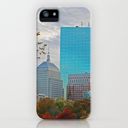 BOSTON STAND UP iPhone Case